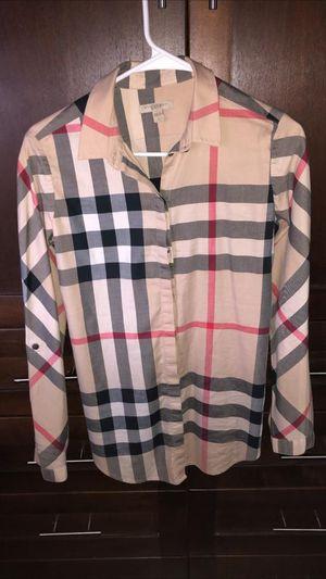 Orginal Burberry shirt womens for Sale in San Diego, CA