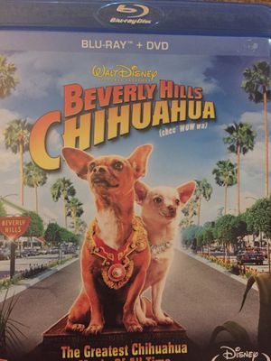 Beverly Hills chihuahua Blu-ray dvd movie for Sale in Saint Petersburg, FL