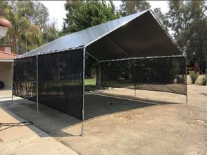 New galvanize steel canopy TENT 10x20 heavy duty Frame and tarp included More size available starting price $165 for Sale in Tampa, FL