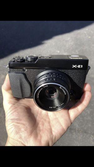 FujiFilm X-E1 w/ 7Artisans 25mm f1.8 manual lens for Sale in Palo Alto, CA