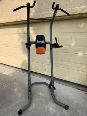 Multifunctional power tower, weight training and exercise stand. for Sale in Dinuba, CA
