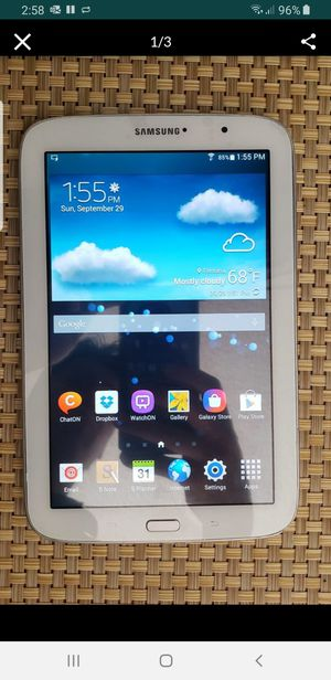 Samsung Galaxy Note 8.0 16gb tablet for Sale in Fontana, CA
