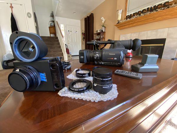 Panasonic P2 HD HVX200 Camera Package!