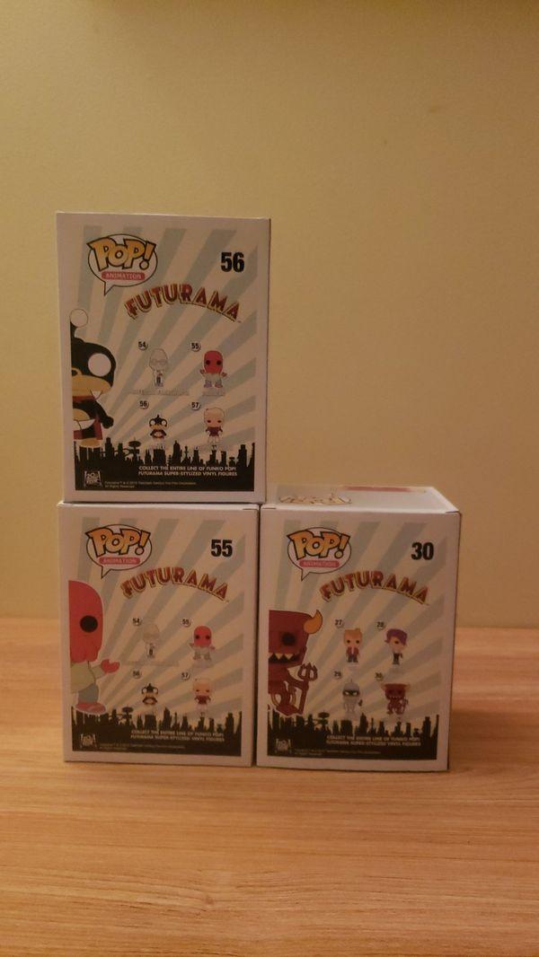 FUNKO Pop! ANIMATION FUTURAMA