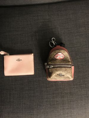 COACH - I'D WALLET, KEYCHAIN BACKPACK - REAL AUTHENTIC / NEW for Sale in Ontario, CA