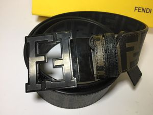 Fendi Authentic Reversible Dark Brown/Black Leather Belt for Sale in New York, NY