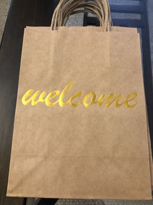 Wedding Welcome Bags - 20 count for Sale in Bailey's Crossroads, VA