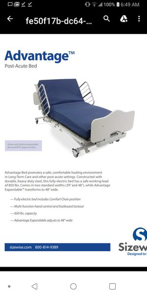 SizeWise Bariatric Hospital Bed for Sale in Renton, WA