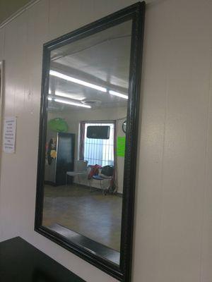 Wall black mirror for Sale in Tulsa, OK