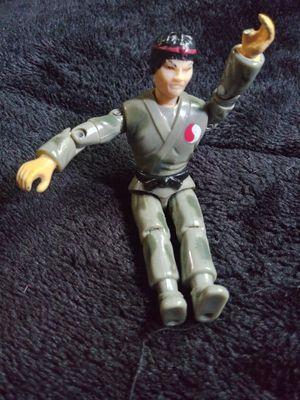 1986 Lanard Action Figure Toy The Corps Ninja GI Joe Military Yamato Yin Dragon Han for Sale in Pasadena, TX