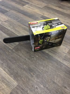 Ryobi 14 in. 37cc 2-Cycle Gas Chainsaw Model RY3714 for Sale in Lynn, MA