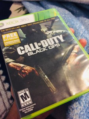 Xbox 360 CALL OF DUTY BLACK OPS for Sale in Alexandria, VA