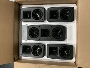Klipsch Quintet 5.0 speaker system for Sale in Las Vegas, NV