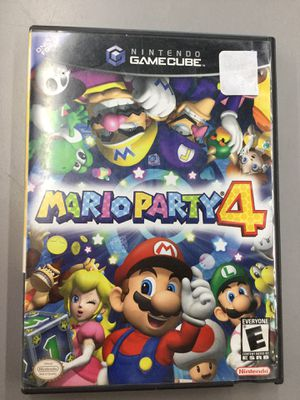 Mario Party 4 for Nintendo GameCube Game and Case Only for Sale in Kent, WA