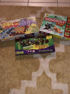 Kids junior board games for Sale in Cape Coral, FL