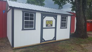 10x16 Garden Shed (stor-mor) for Sale in Devine, TX