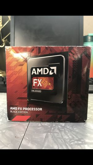 AMD FX Processor (Black Edition) for Sale in Boise, ID