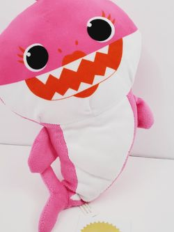 """Baby Shark Plush PINK MOMMY SHARK Elco Toys Toy Stuffed Doll 12"""" for Sale in Queens,  NY"""