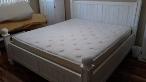 Free California King mattress and post springs for Sale in Downey, CA