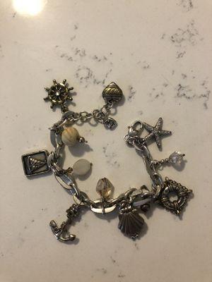 Brighton beach charm bracelet for Sale in Lake Zurich, IL