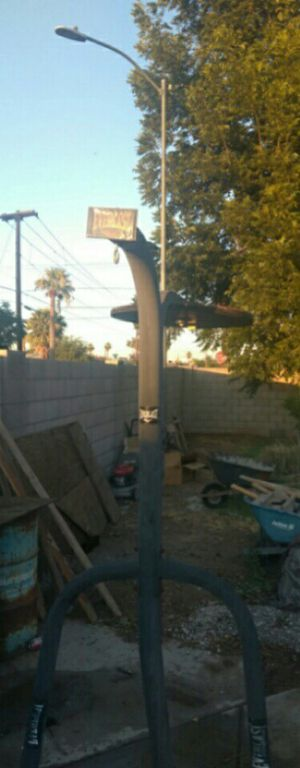 Selling punching and speed bag stand for Sale in Glendale, AZ