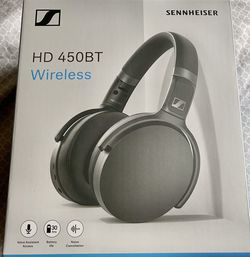 Sennheiser HD 450BT Active Noise Cancellation Headphones for Sale in Redmond,  WA