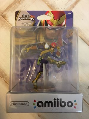 New Smash Bros Amiibo - Captain Falcon - Nintendo Switch Wii U for Sale in Brentwood, CA