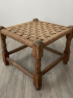 Old Rope Farmhouse Foot Stool for Sale in Los Angeles,  CA