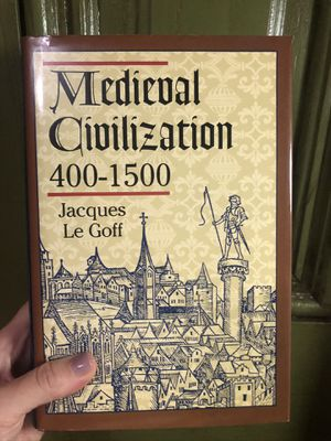 Medieval Civlilization 400 - 1500 by Jacques Le Goff (Hardcover, NEW) for Sale in Chicago, IL