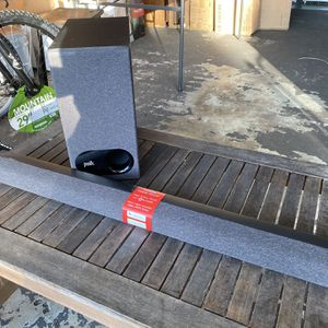 Polk Sigma S3 Soundbar With Subwoofer for Sale in Oceanside, CA