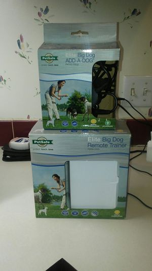 Pet safe 2- large dog collars for Sale in Jennings, FL