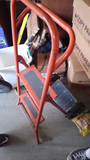 Hand trucks and ladder combo for Sale in Dublin, GA