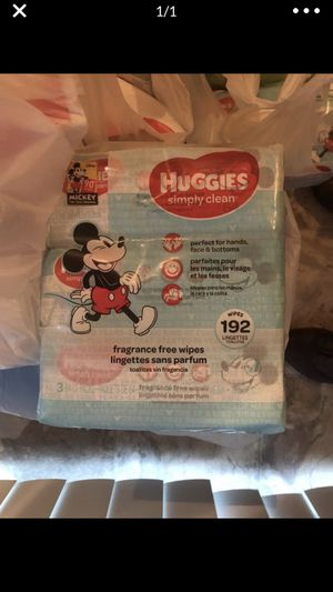 Huggies baby wipes for Sale in Gahanna, OH