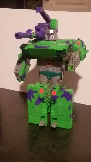 TRANSFORMERS G2 MEGATRON TANK ACTION FIGURE HASBRO 1993 for Sale in Leander, TX