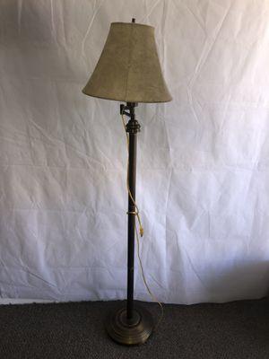 Vintage Swing Arm Floor Lamp w/ Shade for Sale in Lake Havasu City, AZ