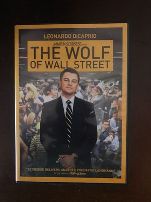 The Wolf of Wall Street DVD for Sale in Orlando, FL