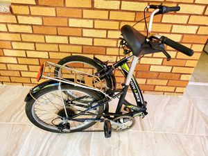 Folding Bike 6 Speed Great Condition Amazing Handlebar for Sale in Queens, NY