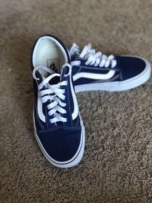 VANS BLUE & WHITE... SIZE 5 👌🏽 $70.00 both ObO... for Sale in Pompano Beach, FL