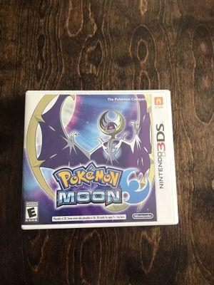 Nintendo Pokémon Moon for the Nintendo 3DS for Sale in Avondale, AZ