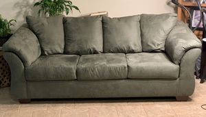 Ashley Furniture Sage Green Couch for Sale in Lake Oswego, OR