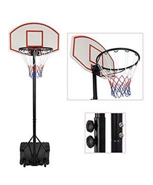Kids Portable Height Adjustable Basketball Hoop Stand, 28 Inch Backboard, Basketball Goals Indoor/Outdoor for Sale in Las Vegas, NV