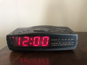 Registry alarm, FM clock for Sale in Plano, TX