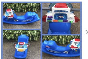 Little tikes Police Rocker with sounds and light for Sale in El Monte, CA