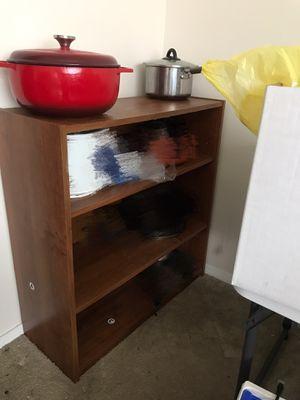 Storage Shelf Wooden Bookcase Bookshelf Adjustable, File Organizer Shelves for Sale in Syracuse, NY