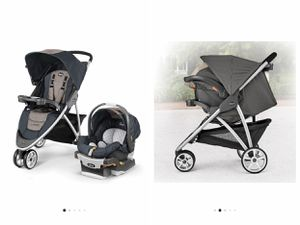 Chicco Viaro Stroller Car seat and 2 bases for Sale in Saint Paul, MN