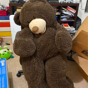 Giant Teddy Bear From Costco - 5 Feet Tall for Sale in Apple Valley, CA