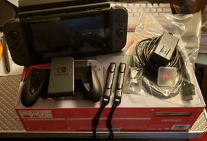 Nintendo Switch + 128GB Memory Card for Sale in Tampa, FL