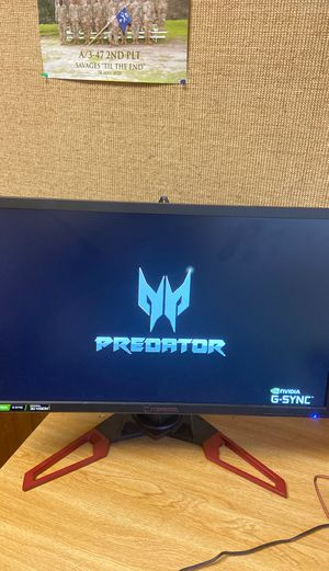 Acer Predator Monitor (Overcloaked 160FPS) for Sale in Schofield Barracks, HI