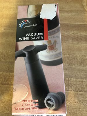 Wine saver for Sale in NO POTOMAC, MD