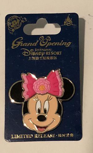 New Disney Shanghai Resort Grand Opening MINNIE Pin #2 for Sale in Hemet, CA